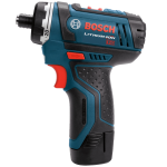 Bosch CLPK27-120 12-Volt Max Lithium-Ion 2-Tool Combo Kit (Drill Driver and Impact Driver) with 2 Batteries Charger and Case 4