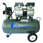 California Air Tools CAT-6310 Ultra Quiet and Oil-Free 1.0 Hp 6.3-Gallon Steel Tank Air Compressor 2